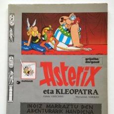 Cómics: ASTERIX ETA KLEOPATRA (EUSKERA | TAPA BLANDA | ED. 1994). Lote 151010473