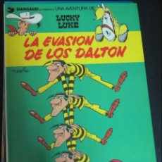 Cómics: LA EVASIÓN DE LOS DALTON LUCKY LUKE Nº 16 MORRIS GRIJALBO DARGAUD AÑO 1982 TAPA DURA. Lote 146243618