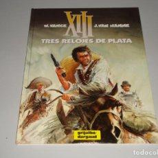 Cómics: XIII TRES RELOJES DE PLATA 11. Lote 146411658