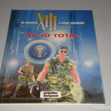 Cómics: XIII ROJO TOTAL 5. Lote 146428770
