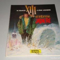 Cómics: XIII EL INFORME JASON FLY 6. Lote 146428834