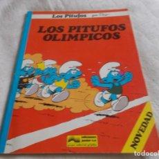 Cómics: LOS PITUFOS LOS PITUFOS OLÍMPICOS. Lote 146445042