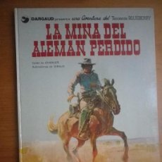 Cómics: CÓMIC BLUEBERRY LA MINA DEL ALEMÁN PERDIDO EN PERFECTO ESTADO. Lote 146637210