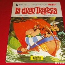 Cómics: ASTERIX. Nº 22. LA GRAN TRAVESIA. GRIJALBO .TAPA DURA C-30. Lote 146959190