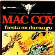 Cómics: MAC COY FIESTA EN DURANGO. Nº 10. EDICIONES JUNIOR. 1979. Lote 147022270
