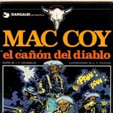 Cómics: MAC COY EL CAÑON DEL DIABLO. Nº 9. EDICIONES JUNIOR. 1979. Lote 147022552