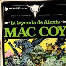 Cómics: LA LEYENDA DE ALEXIS MAC COY. Nº 1. EDICIONES JUNIOR. 1981. Lote 147023833