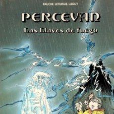 Cómics: PERCEVAN LAS LLAVES DE FUEGO. Nº 6. FAUCHE. LETURGIE. LUGUY. GRIJALBO, 1988. Lote 147029194