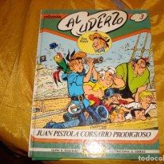 Cómics: JUAN PISTOLA , CORSARIO PRODIGIOSO. Nº 3. EDICIONES GRIJALBO. GOSCINNY / UDERZO. Lote 147073154