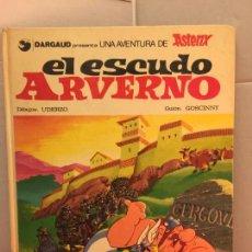 Cómics: ASTERIX EL ESCUDO ARVERNO - DARGAUD, GRIJALBO - DIBUJOS UDERZO, GUION GOSCINNY. Lote 147079562