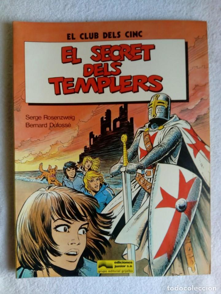 Cómics: Lote de 2 Comics: EL CLUB DELS CINC * El secret dels templers & El Déu Inca - Foto 3 - 147202030