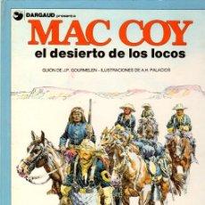 Cómics: MAC COY EL DESIERTO DE LOS LOCOS. Nº 14. GRIJALBO, 1988. Lote 147301144