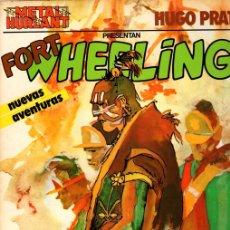 Cómics: FORT WHEELING. HUGO PRATT. METAL HURLANT Nº 4. EUROCOMIC, 1981. Lote 147305216