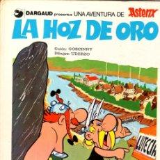 Cómics: ASTERIX. LA HOZ DE ORO. Nº 3. CARTONÉ. GRIJALBO, 1983. Lote 147323314