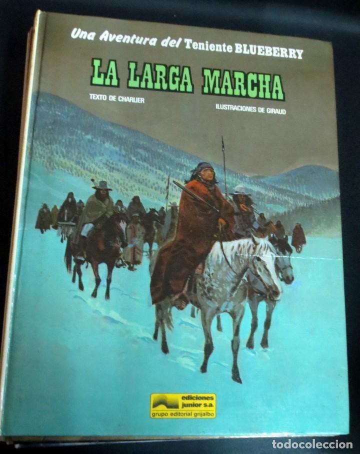 LA LARGA MARCHA TENIENTE BLUEBERRY Nº 20 CHARLIER GIRAUD EDICIONES JUNIOR AÑO 1981 (Comics - Grijalbo - Blueberry)