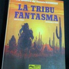 Cómics: LA TRIBU FANTASMA TENIENTE BLUEBERRY Nº 21 CHARLIER GIRAUD EDICIONES JUNIOR AÑO 1982. Lote 147358474