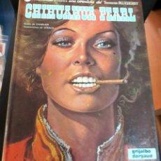 Cómics: CHIHUAHUA PEARL TENIENTE BLUEBERRY Nº 7 CHARLIER GIRAUD GRIJALBO/DARGAUD AÑO 1980. Lote 147364766