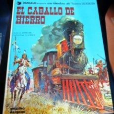 Cómics: EL CABALLO DE HIERRO TENIENTE BLUEBERRY Nº 3 CHARLIER GIRAUD GRIJALBO/DARGAUD AÑO 1980. Lote 147365854