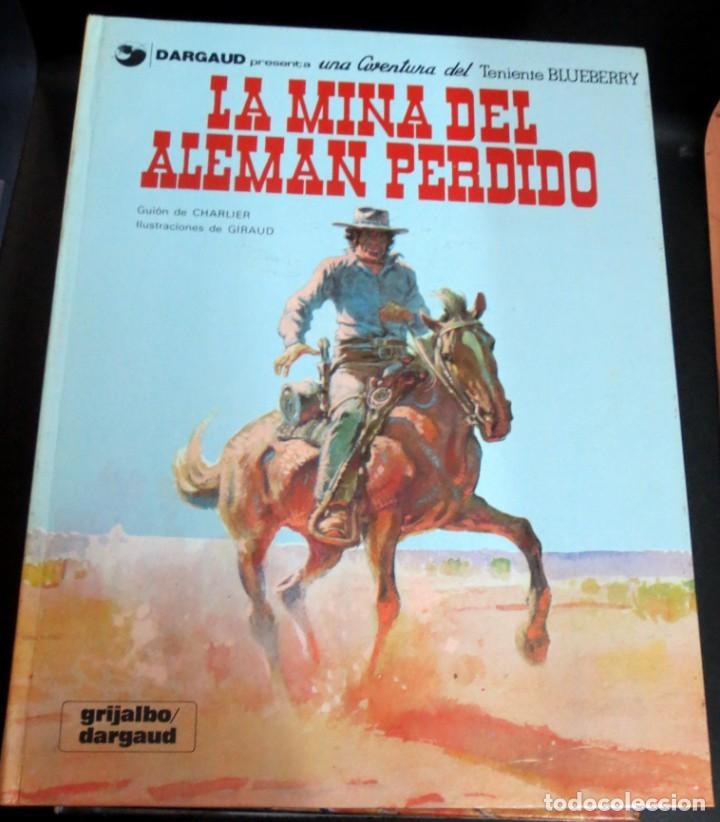 LA MINA DEL ALEMÁN PERDIDO TENIENTE BLUEBERRY Nº 1 CHARLIER GIRAUD GRIJALBO/DARGAUD AÑO 1981 (Tebeos y Comics - Grijalbo - Blueberry)