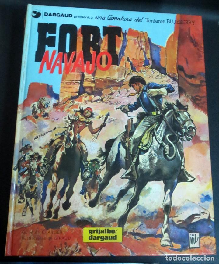 FORT NAVAJO TENIENTE BLUEBERRY Nº 16 CHARLIER GIRAUD GRIJALBO/DARGAUD AÑO 1982 (Tebeos y Comics - Grijalbo - Blueberry)