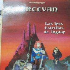 Cómics: PERECEVAN Nº 1 LAS TRES ESTRELLAS DE INGAAR LÉTURGÍE LUGUY EDIT GRIJALBO AÑO 1984. Lote 147500998