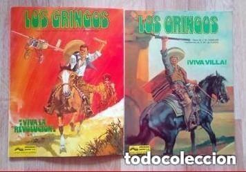 LOS GRINGOS (COLECCIÓN) VIVA VILLA Y VIVA LA REVOLUCIÓN (Tebeos y Comics - Grijalbo - Otros)