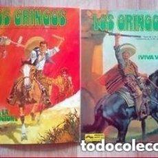 Cómics: LOS GRINGOS (COLECCIÓN) VIVA VILLA Y VIVA LA REVOLUCIÓN. Lote 147607270