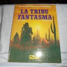 Cómics: LA TRIBU FANTASMA.UNA AVENTURA DEL TENIENTE BLUEBERRY.Nº 21.TEXTO DE CHARLIER/DIBUJOS GIRAUD. Lote 147619318