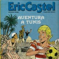 Cómics: ERIC CASTEL Nº 13 - AVENTURA A TUNIS - ED. JUNIOR 1989 1ª EDICIÓ - CATALA, TAPA DURA - MOLT DIFICIL. Lote 151571321