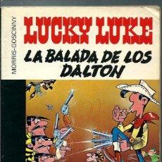 Cómics: LUCKY LUKE - LA BALADA DE LOS DALTON - GRIJALBO DARGAUD, COLECCION 16/22 - DIFICIL - VER DESCRIPCION. Lote 147735174