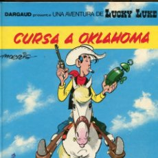 Cómics: LUCKY LUKE Nª 39. CURSA A OKLAHOMA. GRILABO 1989 1ª ED.. Lote 147823302
