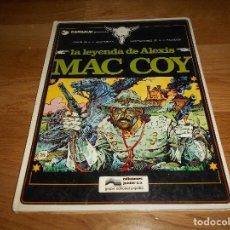 Cómics: J. P. GOURMELEN. LA LEYENDA DE ALEXIS MAC COY. 1 1981 ILUSTRACIONES DE PALACIOS BUEN ESTADO. Lote 147980974