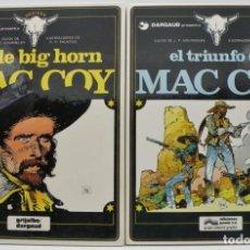 Cómics: MAC COY COMICS - VOLÚMENES 4 Y 8 EXCELENTES. Lote 148032014