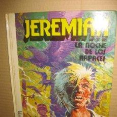 Cómics: JEREMIAH, Nº 1. LA NOCHE DE LOS RAPACES. EDICIONES JUNIOR 1980. Lote 148056790
