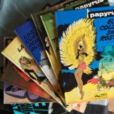 Comics : PAPYRUS COLECCIÓN COMPLETA 8 TOMOS - JUNIOR - DE GIETER. Lote 148117114