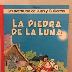 Cómics: LAS AVENTURAS DE JUAN Y GUILLERMO - LA PIEDRA DE LA LUNA. IMPECABLE. Lote 148151746