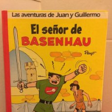 Cómics: LAS AVENTURAS DE JUAN Y GUILLERMO - EL SEÑOR DE BASENHAU. IMPECABLE. Lote 148151938