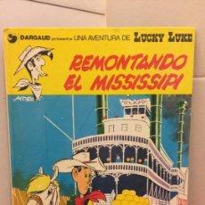 Cómics: EDICIONES JUNIOR - DARGAUD - LUCKY LUKE - REMONTANDO EL MISSISSIPI. Lote 148154750