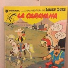Cómics: EDICIONES JUNIOR - DARGAUD - LUCKY LUKE - LA CARAVANA. Lote 148154878