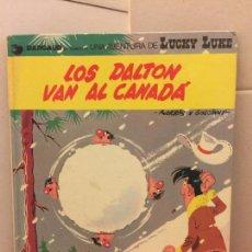 Cómics: GRIJALBO - DARGAUD - LUCKY LUKE - LOS DALTON VAN AL CANADA. Lote 148155278