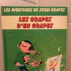 Cómics: LES GRAPES D'EN GRAPES, LES AVENTURES DE SERGI GRAPES - EN CATALÀ. Lote 148160806