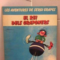 Cómics: EL REI DELS GRAPONERS, LES AVENTURES DE SERGI GRAPES - EN CATALÀ. Lote 148160970