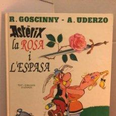Cómics: ASTERIX - LA ROSA I L'ESPASA - EDICIONES JUNIOR, GRIJALBO. Lote 148163238