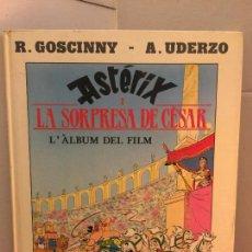 Cómics: ASTERIX I LA SORPRESA DE CESAR, L'ALBUM DEL FILM - EDICIONES JUNIOR, GRIJALBO. Lote 148163426
