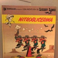 Cómics: LUCKY LUKE, NITROGLICERINA, GRIJALBO-DARGAUD, EN CATALÀ. Lote 148166766