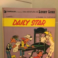 Cómics: LUCKY LUKE, DAILY STAR, GRIJALBO-DARGAUD, EN CATALÀ. Lote 148166862