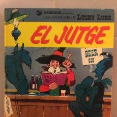 Cómics: LUCKY LUKE, EL JUTGE, GRIJALBO-DARGAUD, EN CATALÀ. Lote 148166926