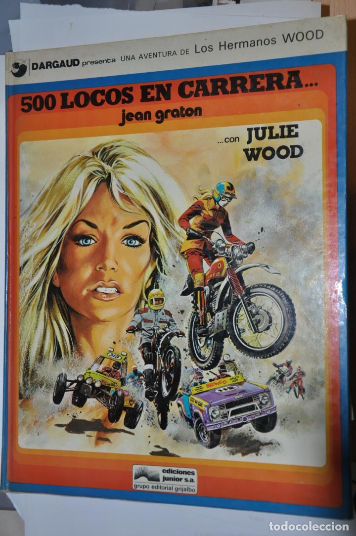 500 LOCOS EN CARRERA, JEAN GRATON, VER TARIFAS ECONOMICAS ENVIOS (Tebeos y Comics - Grijalbo - Otros)