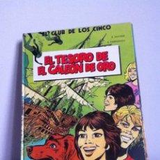 Cómics: EL CLUB DE LOS CINCO N 1 EL TESORO DE EL GALEÓN DE ORO 1983. Lote 148318178