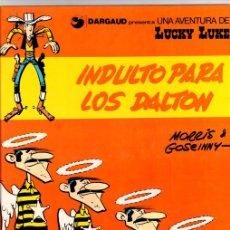Cómics: INDULTO PARA LOS DALTON. LUCKY LUKE. Nº 13. GRIJALBO, 1991. GUION DE GOSCINNY. ILUSTRACIONES DE MORR. Lote 148421146